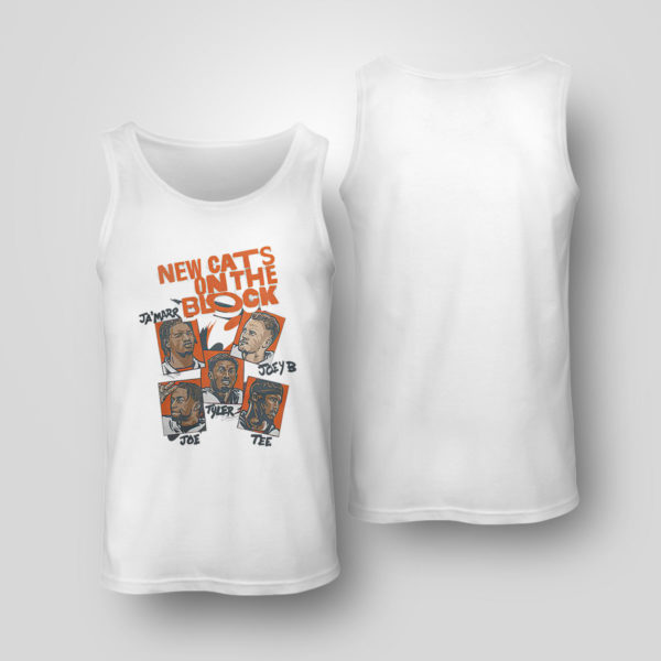 Unisex Tank Top New Cats on the Block Shirt