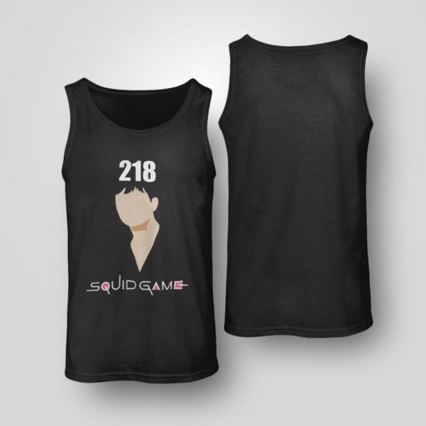 Unisex Tank Top Squidgame shirt 218