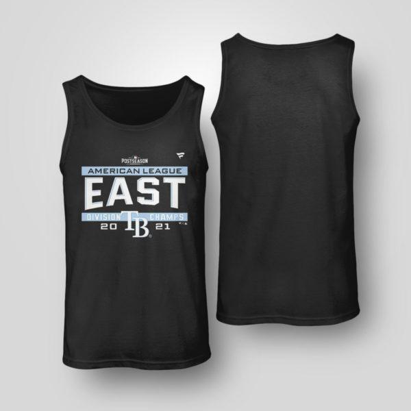Unisex Tank Top Tampa Bay Rays AL East Champions Shirt