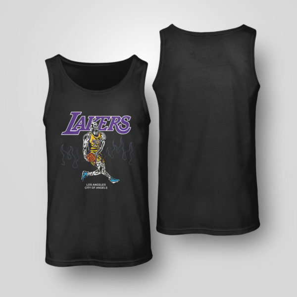 Unisex Tank Top Warren Lotas NBA Team LA Lakers Lebron Shirt